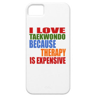 Taekwondo Is My Therapy iPhone 5 Cover