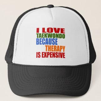 Taekwondo Is My Therapy Trucker Hat