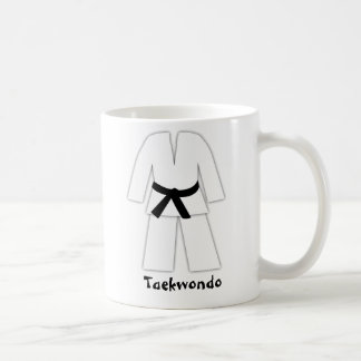 Taekwondo Karate Black Belt Coffee Mug