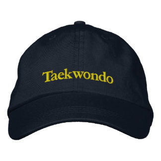 Taekwondo Navy Baseball Cap