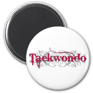 Taekwondo Red Magnet