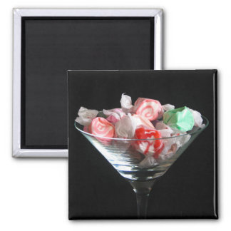 Taffy candy in dish magnet