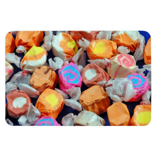 Taffy candy print magnet