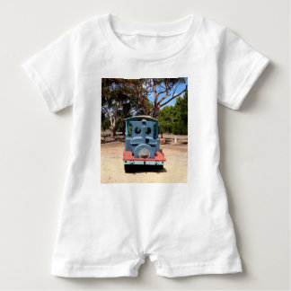 Taffy, Train Engine Locomotive 2 Baby Romper