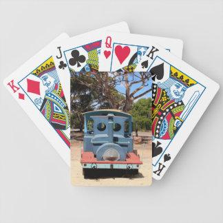 Taffy, Train Engine Locomotive 2 Bicycle Playing Cards