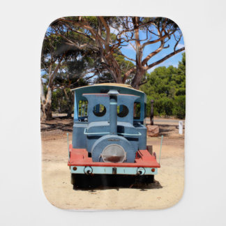 Taffy, Train Engine Locomotive 2 Burp Cloth