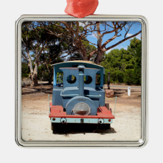 Taffy, Train Engine Locomotive 2 Metal Ornament