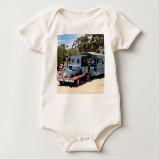 Taffy, train engine locomotive baby bodysuit