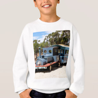 Taffy, train engine locomotive sweatshirt