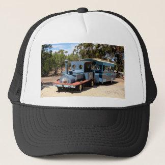 Taffy, train engine locomotive trucker hat