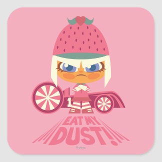 Taffyta: Eat My Dust Square Sticker