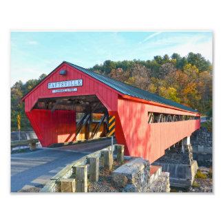 Taftsville Covered Bridge, Vermont 8x10 Photo Print