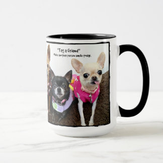 Tag a friend mug