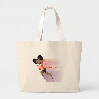 tag large tote bag
