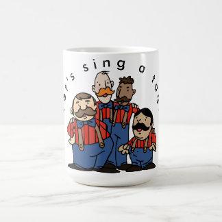 Tag Team Trois Coffee Mug