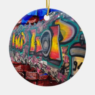 Tag Wall Ceramic Ornament