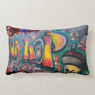 Tag Wall Lumbar Pillow