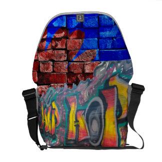 Tag Wall Messenger Bags