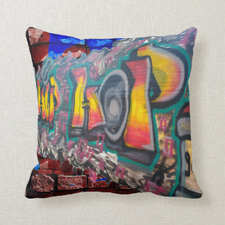 Tag wall throw pillow