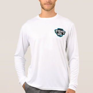 Tahit Two Sided White Long Sleeves T-Shirt Mens