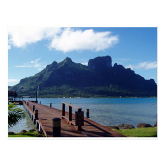 Tahiti  -  another view postcard