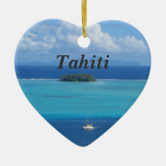 Tahiti Ceramic Ornament