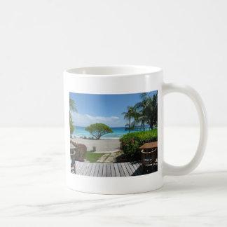 Tahiti Getaway Basic White Mug