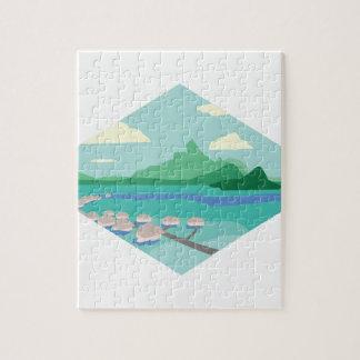 Tahiti Jigsaw Puzzle