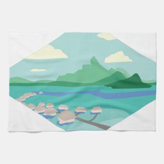 Tahiti Kitchen Towel