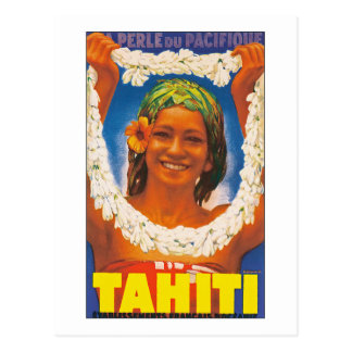 Tahiti ~ La Perle du Pacifique Postcard