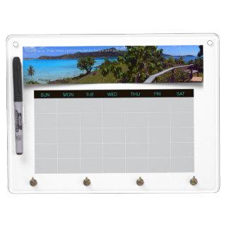 Tahiti Photo Weekly Planner Calendar Proverbs 29 Dry-Erase Whiteboards