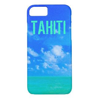 Tahiti Shades Tropical Ocean DO3 iPhone 7 Case
