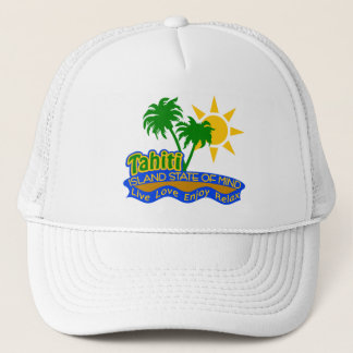 Tahiti State of Mind hat - choose color