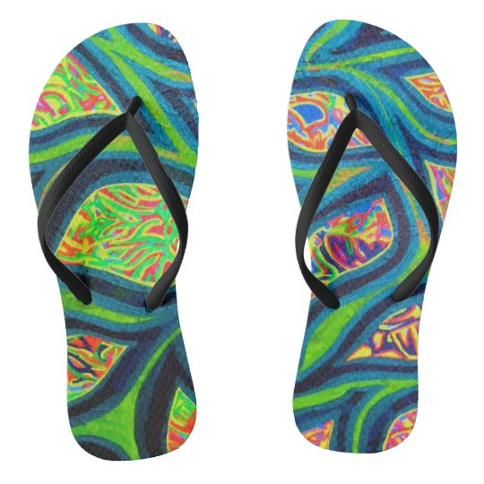 Tahitian Dream Flip Flops