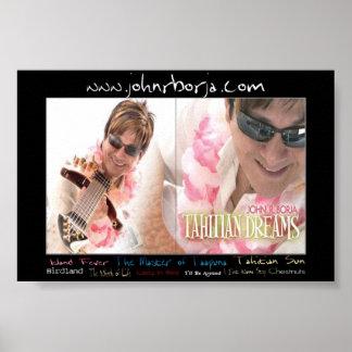 Tahitian Dreams Island Fever Poster