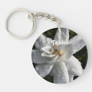 Tahitian Gardenia Keychain