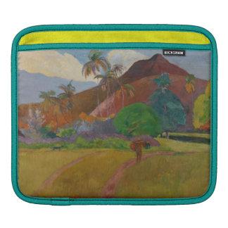 Tahitian Landscape, 1891 (oil on canvas) iPad Sleeves
