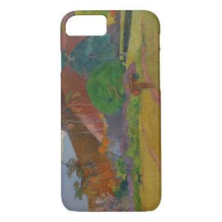 Tahitian Landscape, 1891 (oil on canvas) iPhone 7 Case