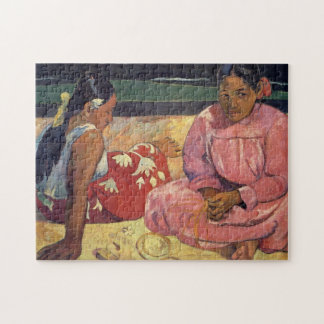 Tahitian Women on the Beach - Paul Gauguin Jigsaw Puzzle