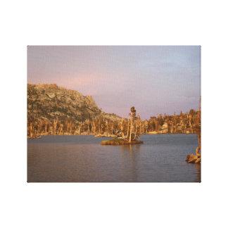 Tahoe Desolation Wilderness - Velma Lake Canvas Print