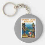 Tahoe Lake Region Vintage Key Chain