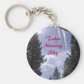 Tahoe Morning Sun & Sky Key Chains