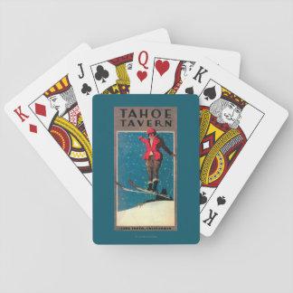 Tahoe Tavern Promo Poster Playing Cards