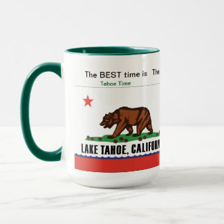 Tahoe Time Mug