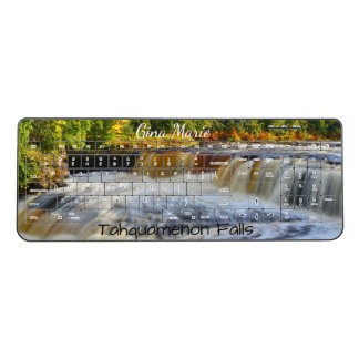 Tahquamenon Falls Michigan Wireless Keyboard