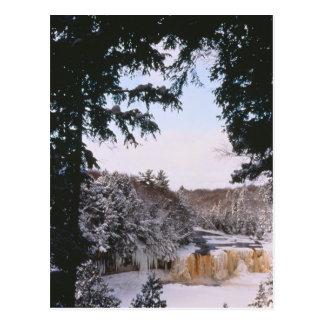 Tahquamenon Frozen Falls Postcard
