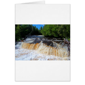 Tahquamenon Lower Falls II Card