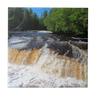 Tahquamenon Lower Falls II Tile