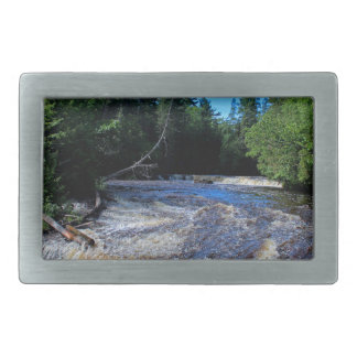 Tahquamenon Lower Falls III Belt Buckle