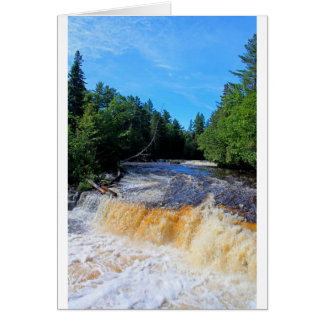 Tahquamenon Lower Falls III Card
